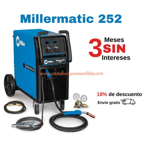 Millermatic 252 Miller Maquina de Soldar 208/230 Volt 907322