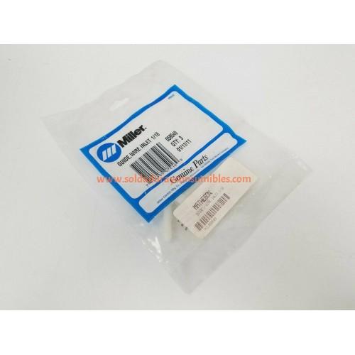 Miller 058549 Guía de alambre de entrada 1/16 para alimentador de alambre XR ™ A / W y pistolas de alimentación