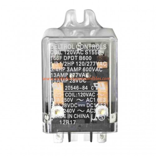 Miller 059266 Relay 10 Amp 120 VAC DPDT 8 Pin para Dialarc HF power source