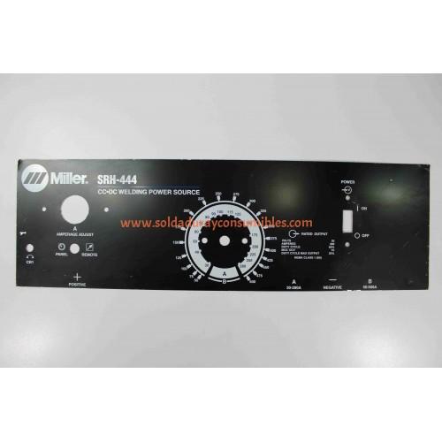 Miller Electric SRH-444 Nameplate 200030