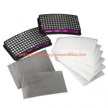 3M Adflo Kit Papr Básico De Alta Eficiencia 15-1101-99