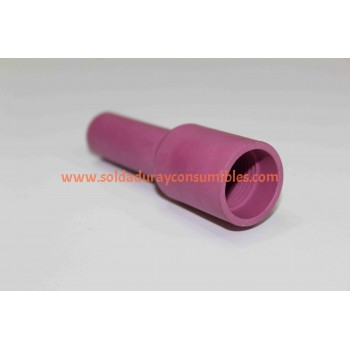 #7L Long Alumina Nozzle Tipo Weldcraft 54N15L