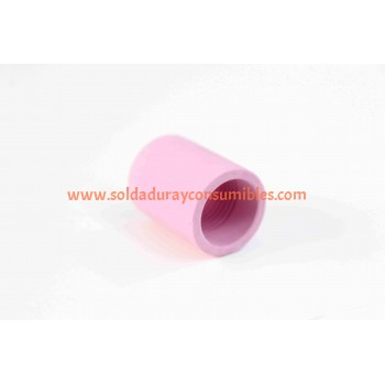 "1/16"" Short Alumina Nozzle For Gl Tipo Weldcraft 54N19"
