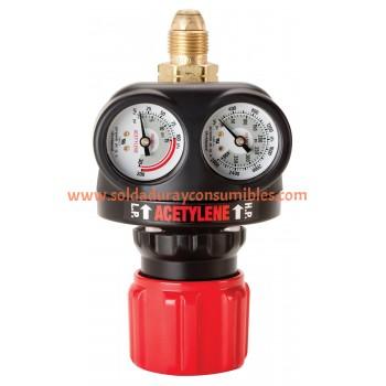Regulador de gas Acetileno 0781-5132 Victor Thermal Dynamics